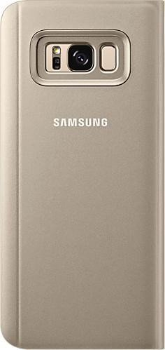 Samsung clear View Standing Cover for Galaxy S8+ gold (EF-ZG955CFEGWW)