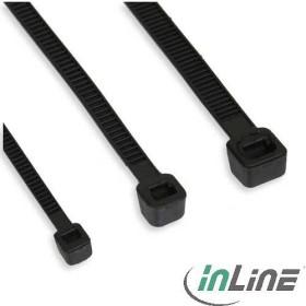 InLine Kabelbinder, 160mm, 4.8mm, 100 Stück, schwarz (59963M)
