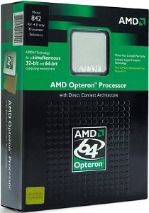 AMD Opteron 846 130nm, 2.00GHz, box (OSA846AVWOF)
