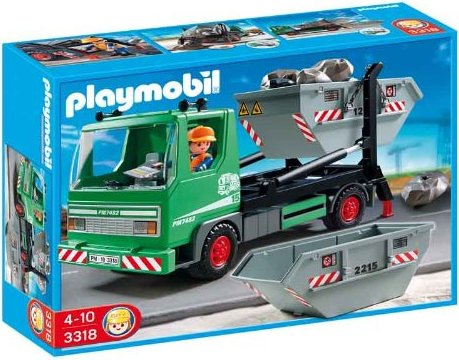playmobil City Action - Containerdienst (3318) -- via Amazon Partnerprogramm