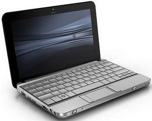 HP 2140 mini-note, 1GB RAM, Windows XP Home (NN355EA)