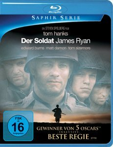 the Soldat James Ryan (Blu-ray)