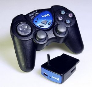 Logic3 Freebird 1 - Wireless RF Gamepad (PS2)