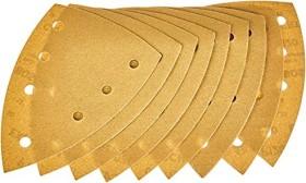 Bosch Deltaschleifblatt C470 Best for Wood and Paint 100x150mm K120, 10er-Pack (2608608Z96)
