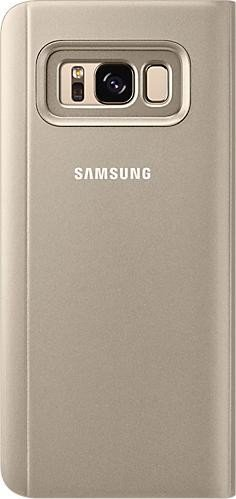 Samsung clear View Standing Cover for Galaxy S8 gold (EF-ZG950CFEGWW)