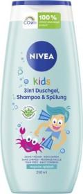 Nivea Kids 3in1 Duschgel, Shampoo & Spülung Apfelduft, 250ml