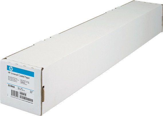 "HP Q1405A/Q1405B coated paper 36"", 45.7m"