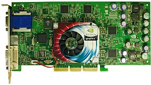 Sparkle SP7200T4, GeForce4 Ti4400, 128MB DDR, DVI, VIVO, AGP