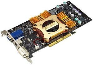 ASUS AGP-V9280 VS (Wideo Suite), GeForce4 Ti4200 8X, 128MB DDR, DVI, VIVO, AGP