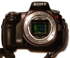 Sony Alpha 35 schwarz Body (SLT-A35)
