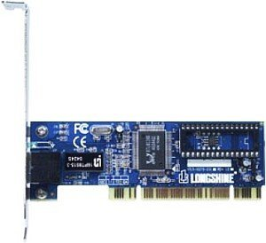 Longshine LCS-8038TXR7-LP, 1x 100Base-TX, PCI, low profile