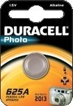 Duracell 625A (LR9) round cell, alkali, 1.5V