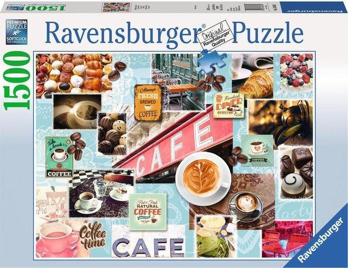Ravensburger Puzzle Kaffee Und Kuchen (16346)