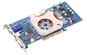 Albatron Ti4800V, GeForce 4600 8X, 128MB DDR, DVI, ViVo, AGP