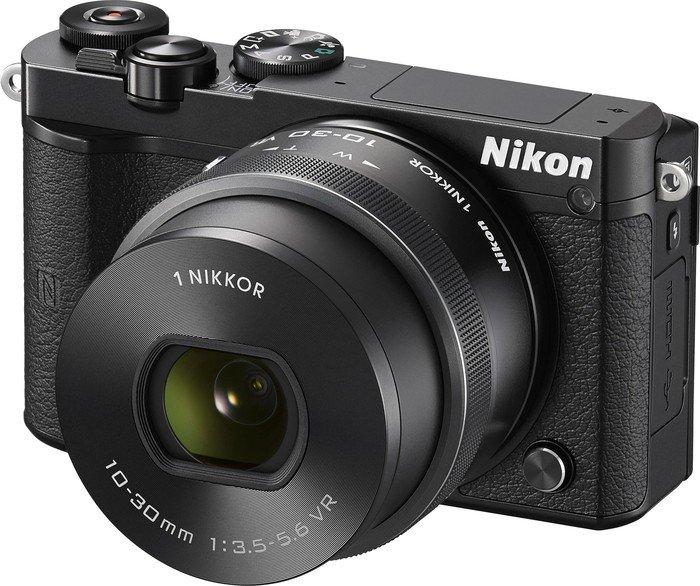 Nikon 1 J5 black with lens VR 10-30mm 3.5-5.6 PD-zoom (VVA241K001)