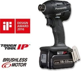 Panasonic EY75A7LJ2G cordless impact wrench incl. case + 2 Batteries 5.0Ah