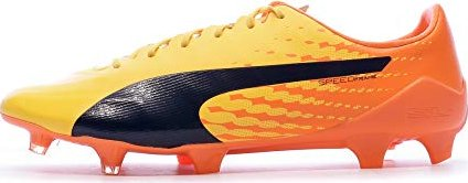 5ccc0e1f7 Puma EvoSpeed SL-S FG safety yellow/atomic blue/white (men) (103731 ...
