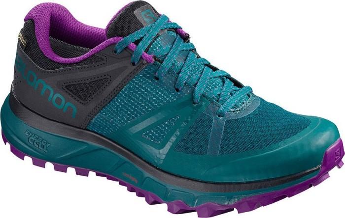 Chaussures SALOMON Trailster Gtx W GORE TEX 404885 26 W0 Deep LagoonNavy BlazerPurple Magic