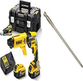 DeWalt DCF620P2K cordless drywall screwdriver incl. case + 2 Batteries 5.0Ah