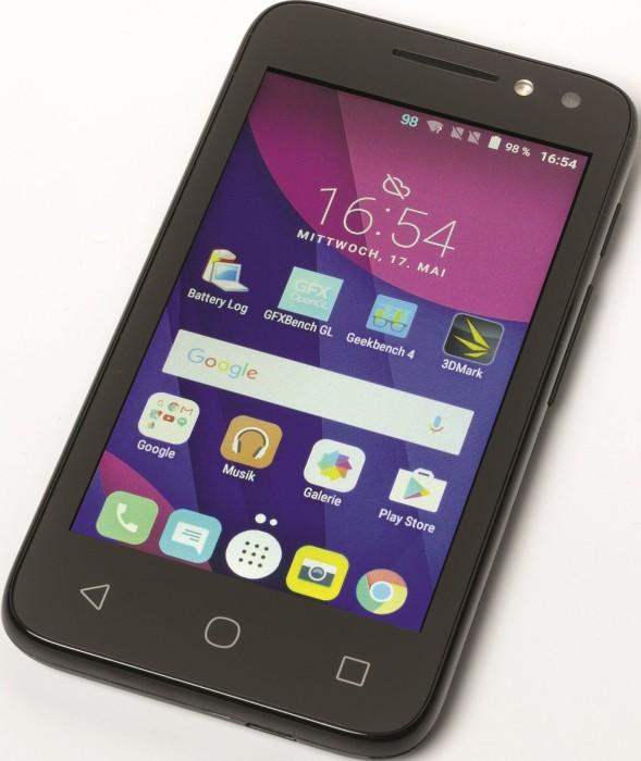 "Alcatel One Touch Pixi 4 4.0"" 4034D schwarz -- © c't"