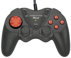 Trust GM-1520 Dual Stick Gamepad, USB (PC/PS2) (14801)
