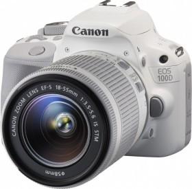 Canon EOS 100D weiß mit Objektiv EF-S 18-55mm 3.5-5.6 IS STM