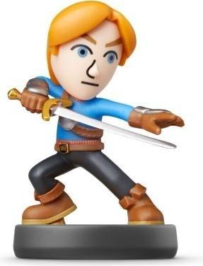 Nintendo amiibo Figur Super Smash Bros. Collection Mii-Schwertkämpfer (Switch/WiiU/3DS)