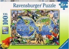 Ravensburger Puzzle Tierisch um die Welt (10540)