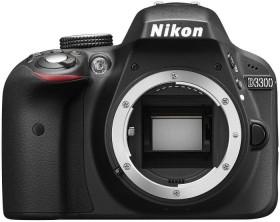 Nikon D3300 schwarz Body (VBA390AE)