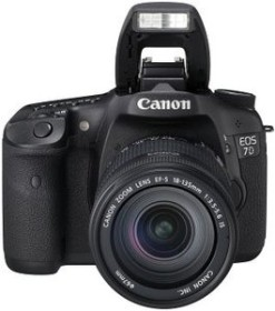 Canon EOS 7D schwarz mit Objektiv Fremdhersteller