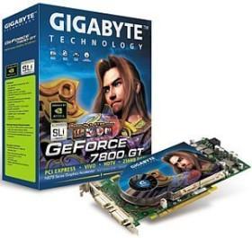 Gigabyte GeForce 7800 GT, 256MB DDR3, 2x DVI, ViVo (GV-NX78T256V-B)