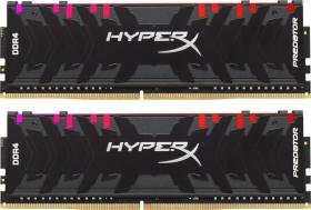 Kingston HyperX Predator RGB DIMM Kit 16GB, DDR4-3200, CL16-18-18 (HX432C16PB3AK2/16)