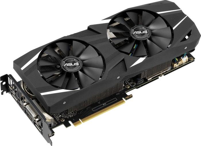 ASUS Dual GeForce RTX 2060, DUAL-RTX2060-6G, 6GB GDDR6, DVI, 2x HDMI, 2x DP (90YV0CM3-M0NA00)