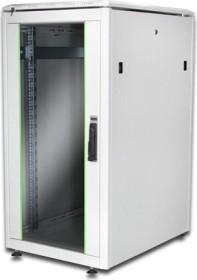 Digitus Professional DN-19 Unique Serie 22HE Serverschrank, Glastür, grau, 800mm tief (DN-19 22U-6/8-1)
