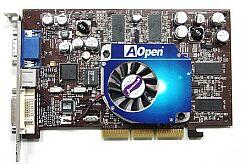 AOpen Aeolus Ti4200 8X-DVC128, GeForce4 Ti4200-8X, 128MB DDR, DVI, ViVo, AGP (91.05210.458)