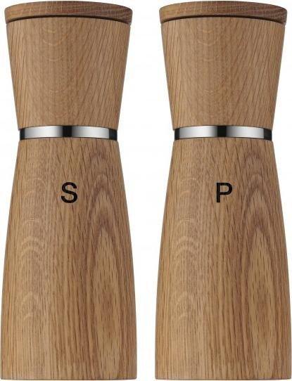 salz-/ pfeffermühlen-set 2-teilig ceramill® nature