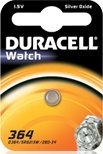 Duracell 364 (SR60) round cell, silver oxide, 1.5V