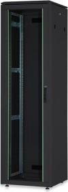 Digitus Professional DN-19 Unique Serie 22HE Serverschrank, Glastür, schwarz, 600mm tief (DN-19 22U-6/6-B-1)