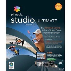 Pinnacle Studio 12.0 Ultimate (German) (PC) (8202-26258-81)