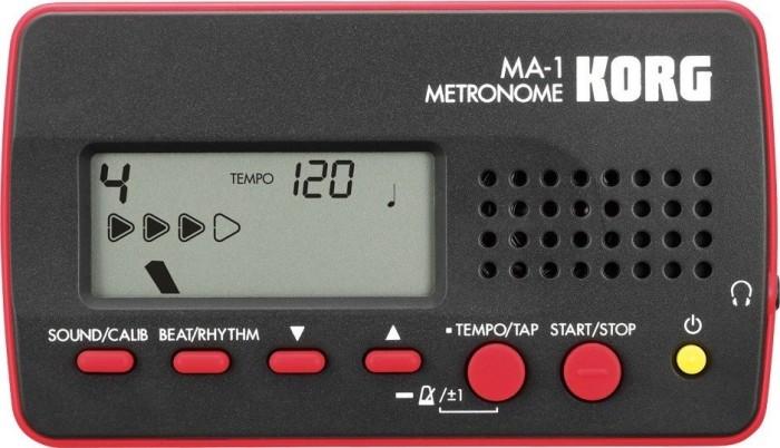 Korg MA-1 Metronom schwarz/rot
