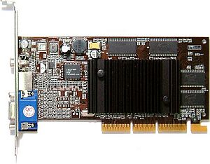 AOpen Aeolus GF4MX440SE-V64, GeForce4 MX440SE, 64MB [SDR], TV-out. AGP (91.05210.4S1)