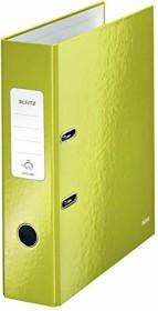 Leitz Qualitäts-Ordner 180° WOW 80mm, grün (10050064)