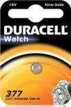 Duracell 377 (SR66) round cell, silver oxide, 1.5V