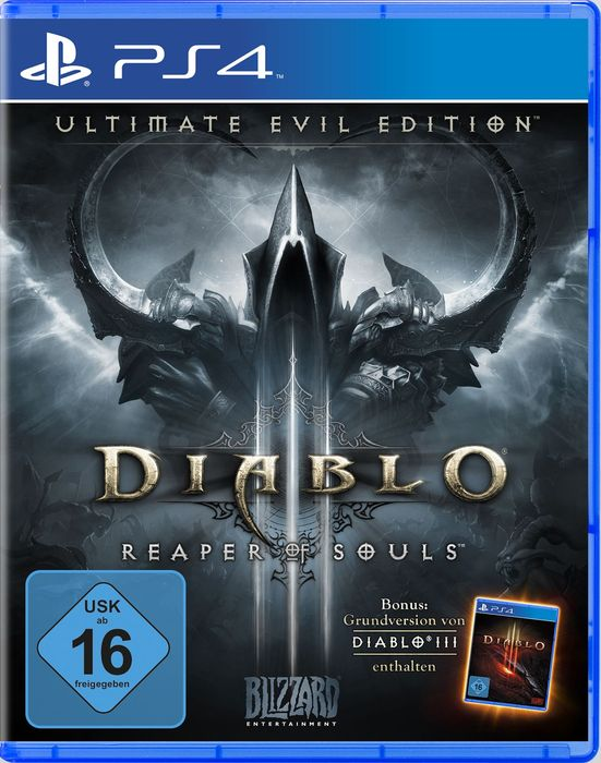 Diablo 3 Xbox One PS4 Saturn