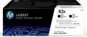 HP Toner 83X black, 2-pack (CF283XD)