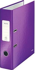 Leitz Qualitäts-Ordner 180° WOW 80mm, violett (10050062)