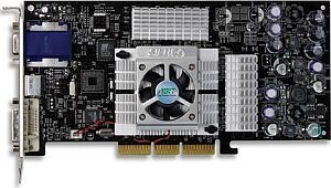 ABIT Siluro GF4TI4400, GeForce4 Ti4400, 128MB DDR, DVI, TV-out, AGP