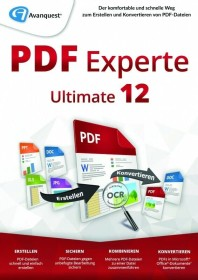 Avanquest eXpert PDF 14.0 Ultimate, ESD (deutsch) (PC) (AQ-12109-LIC)