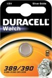Duracell 389/390 (SR54) round cell, silver oxide, 1.5V