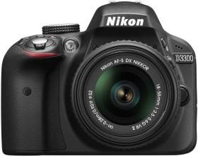 Nikon D3300 schwarz mit Objektiv Fremdhersteller